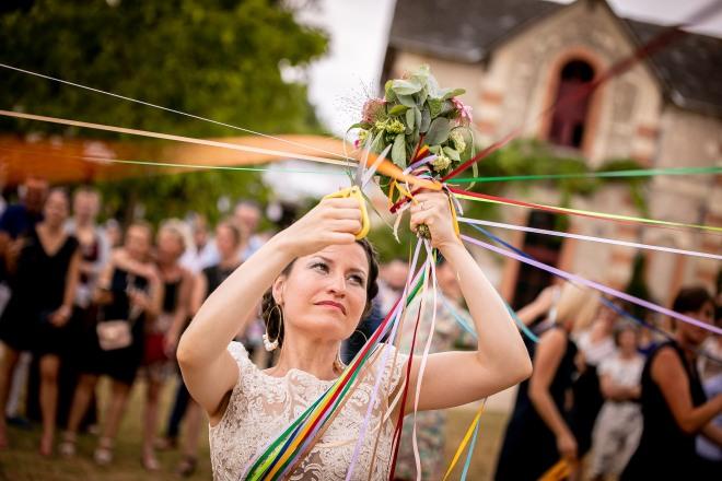 Bouquet de la mariée - Alexandre hellebuyck tous droits réservés.